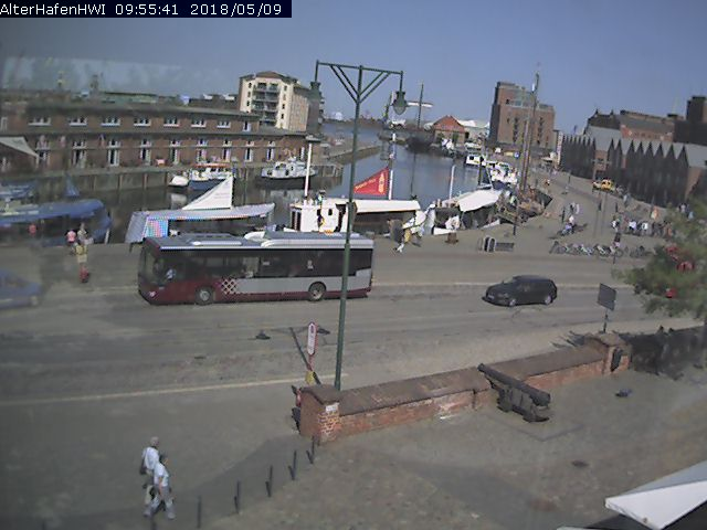 Wismar webcam - Wismar Hafen 2 webcam, Mecklenburg-Vorpommern, Hanseatic League